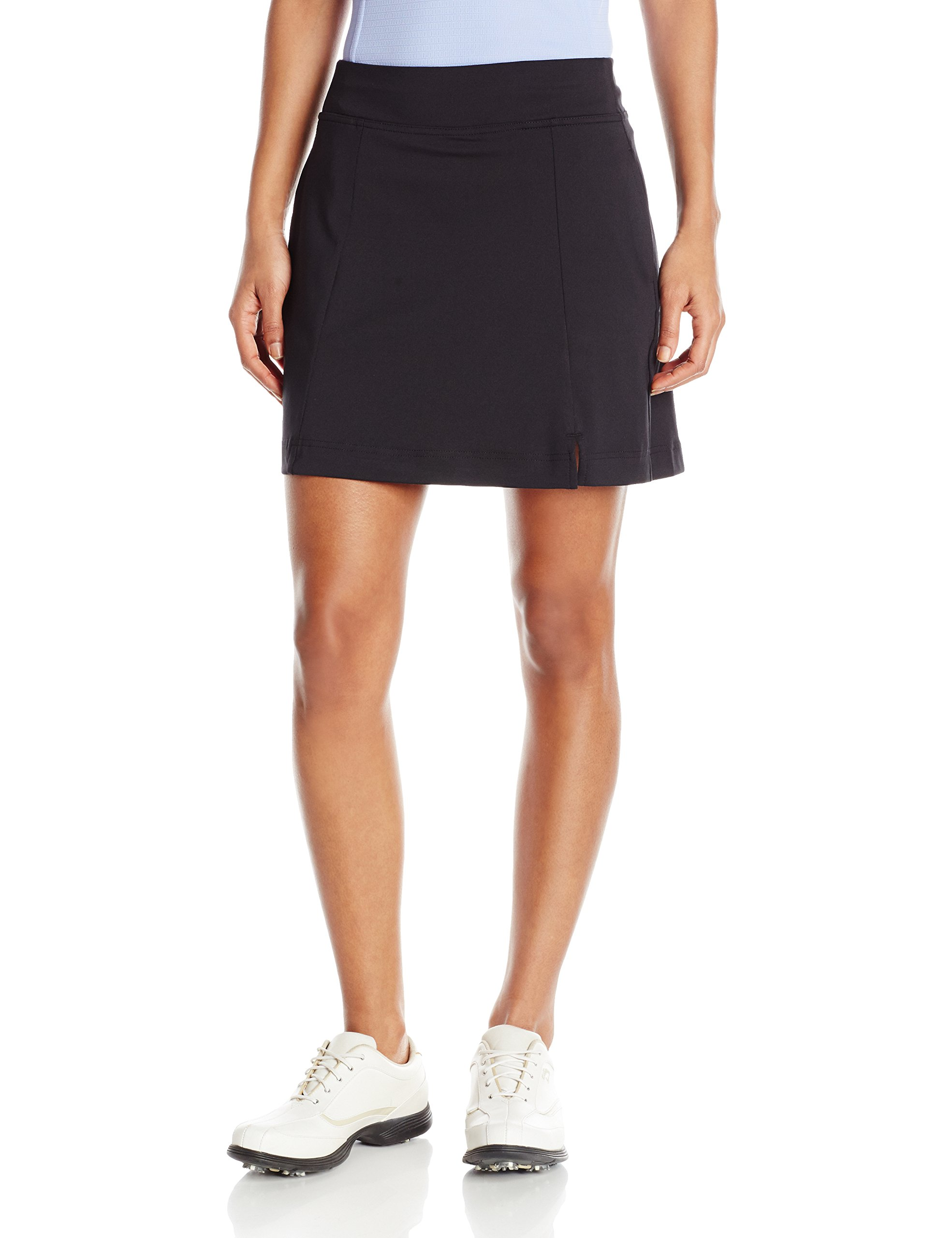 Callaway Women's Golf Performance 17' Knit Skort with Tummy Control, Caviar, Medium by Callaway