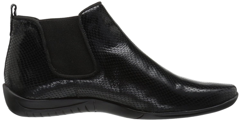 Walking Cradles Women's Ante Ankle Boot B0735ZSG13 7.5 B(M) US|Black Patent