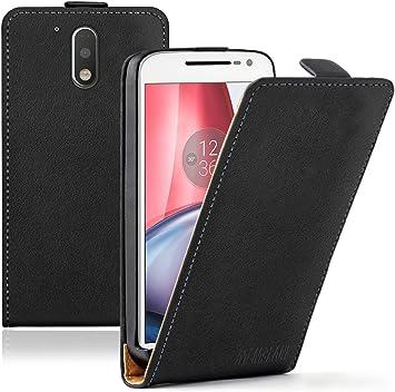 Membrane - Ultra Slim Negro Funda Compatible con Motorola Moto G4 / G4 Plus: Amazon.es: Electrónica