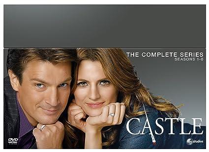 Castle - Seasons 1-8 [DVD]: Amazon co uk: Nathan Fillion