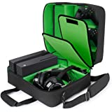 USA GEAR Xbox Case - Console Case Compatible with Xbox Series X and Xbox Series S with Customizable Interior for Xbox Control
