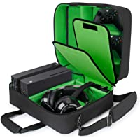 USA GEAR Xbox Case - Console Case Compatible with Xbox Series X and Xbox Series S with Customizable Interior for Xbox…