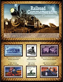 product image for Railroad Commemorative Stamp Collection