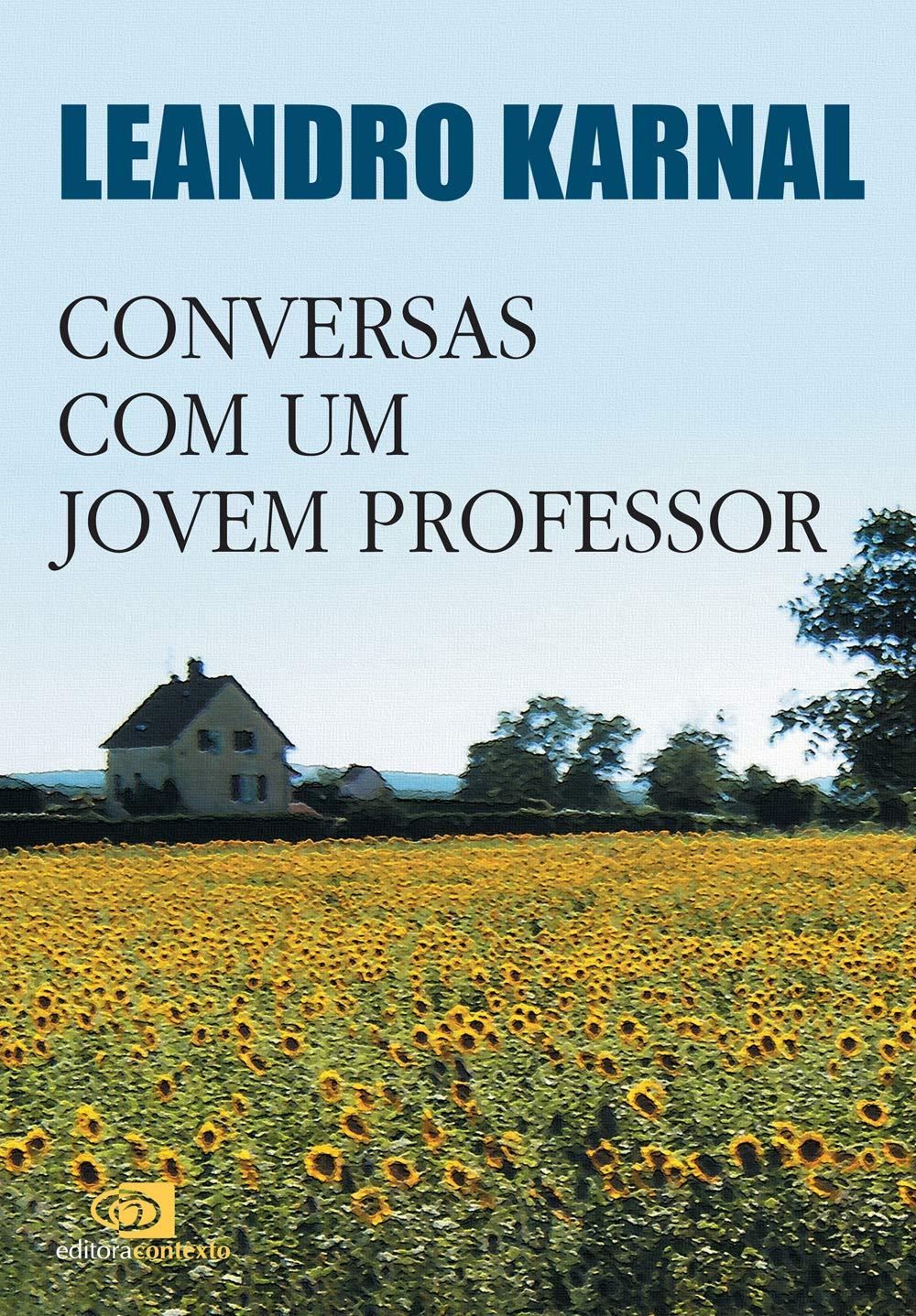 Livro 'Conversas com um jovem professor' de Leandro Karnal