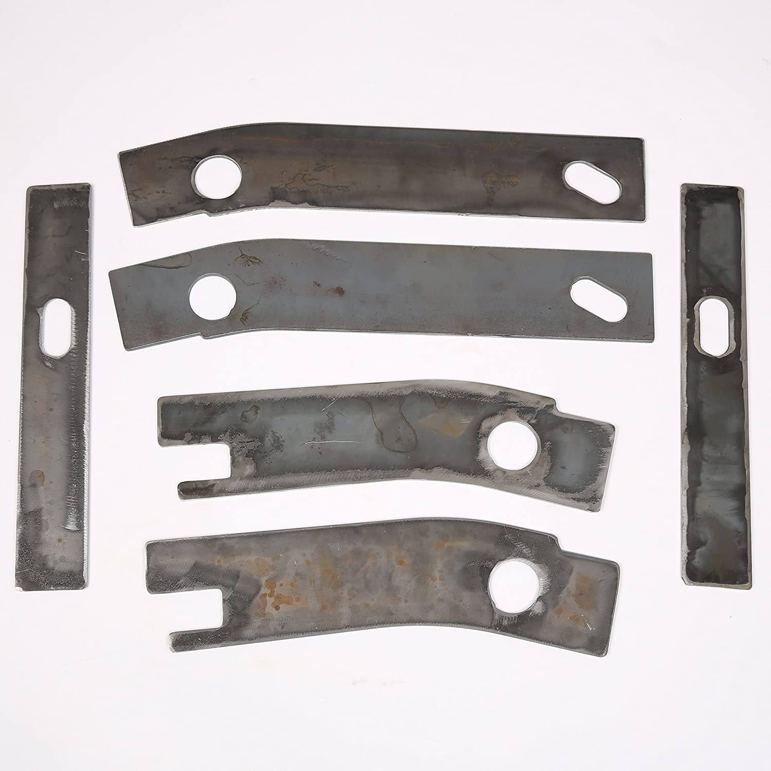 HEKA 8P Frame Repair Rusted Shackle Weld Plate fit for 1986-1995 Jeep Wrangler YJ Rear