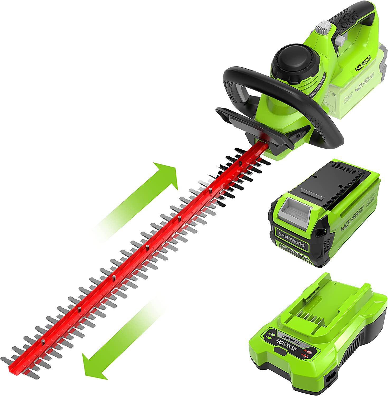 3: Greenworks Hedge Trimmer G40HT61K2