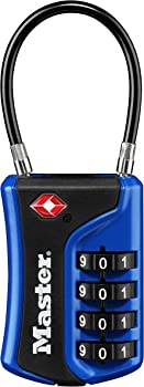 Master Lock 4697D Set Your Own Combination TSA Approved Luggage Lock