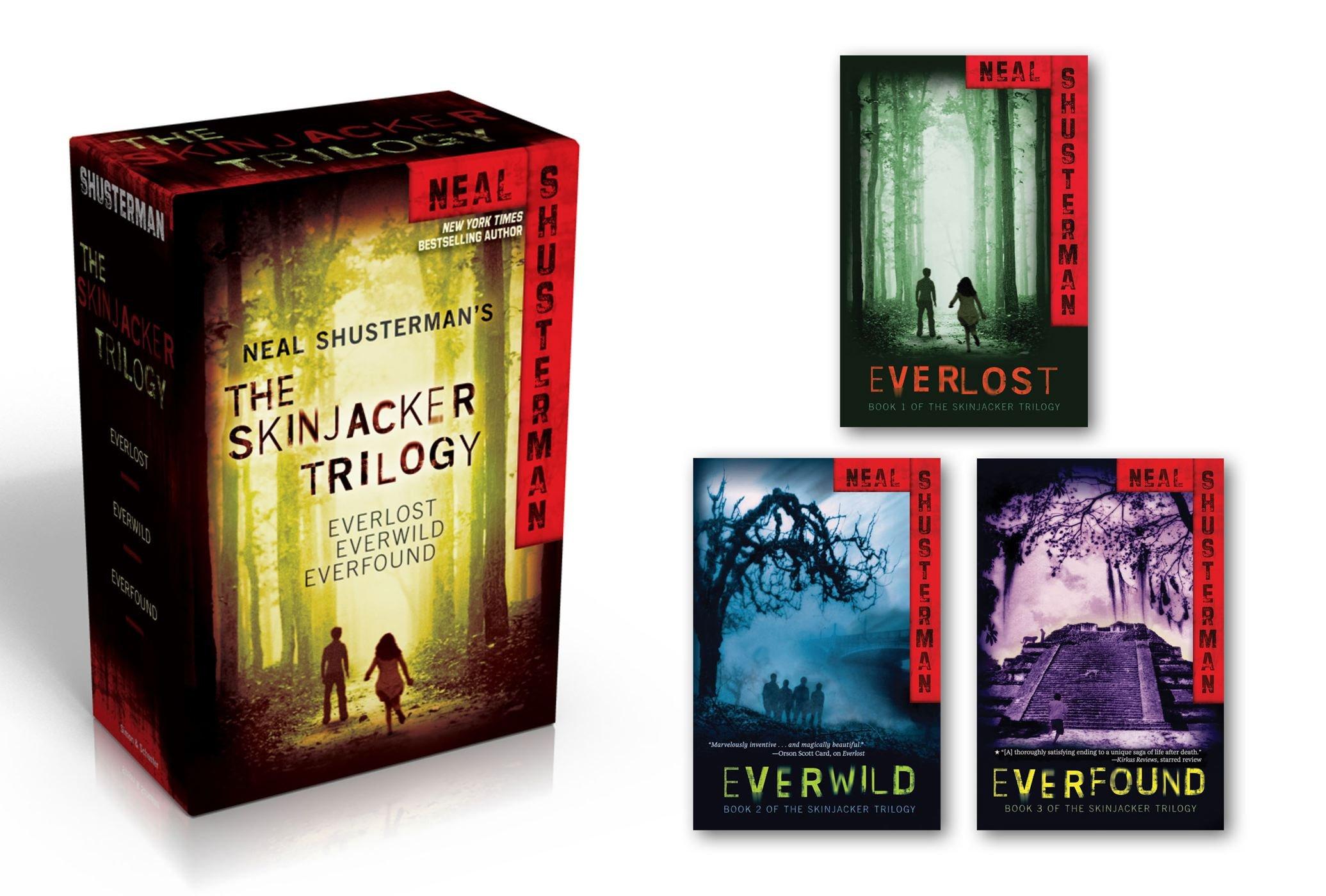 Amazon: The Skinjacker Trilogy: Everlost; Everwild; Everfound  (9781442499034): Neal Shusterman: Books