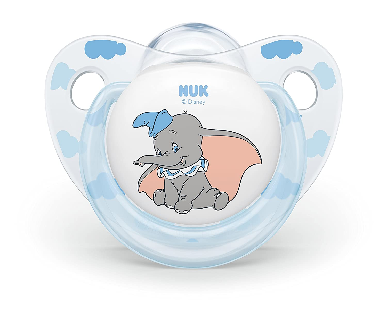 Amazon.com : NUK Disney Baby Dumbo Soother Silicone ...