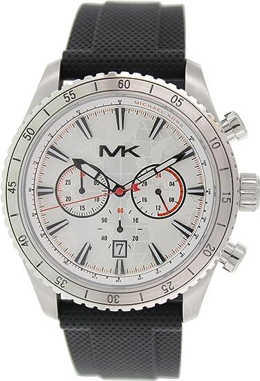 Reloj Michael Kors Lansing Mk8353 Hombre Blanco: Amazon.es