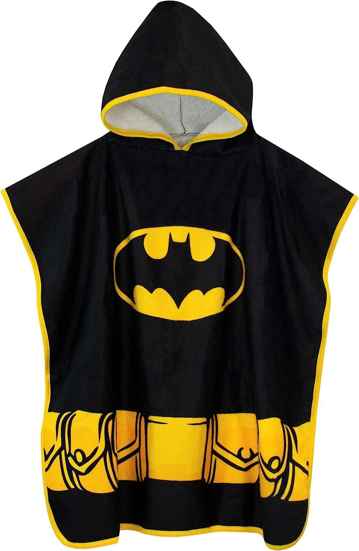 DC Comics Boys' Batman Hooded Towel Poncho