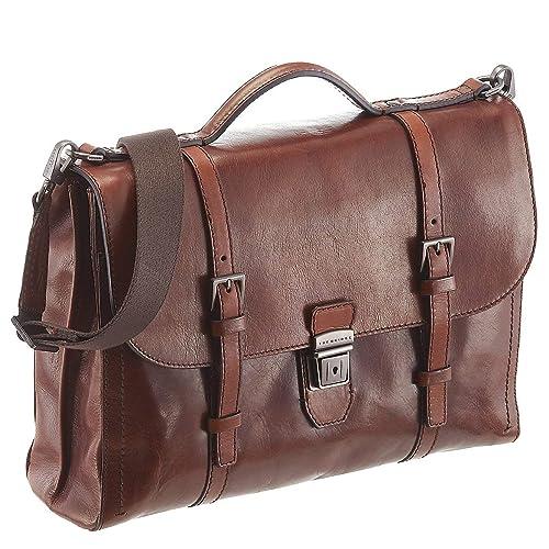b71a9de7e3 The Bridge 06182801 Briefcase Man brown UNICA: Amazon.co.uk: Shoes & Bags