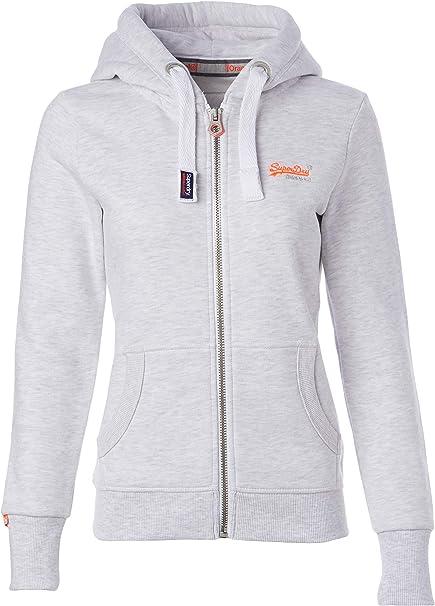 Superdry Orange Label Damen Zip Hoodie Kapuzenpullover