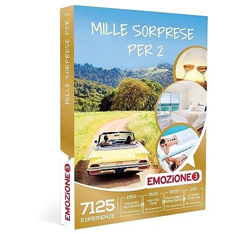 Emozione3 Cofanetto Regalo - MILLE SORPRESE PER 2-7125 soggiorni ...