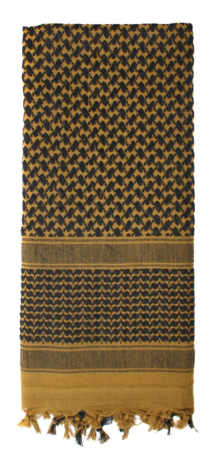 Rothco Shemagh Tactical Desert Scarf, COYOTE