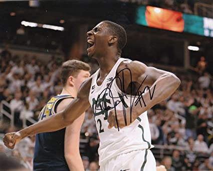 612d351bb Autographed Jaren Jackson Picture - JR MICHIGAN STATE SPARTANS 8X10  PROOF   W COA