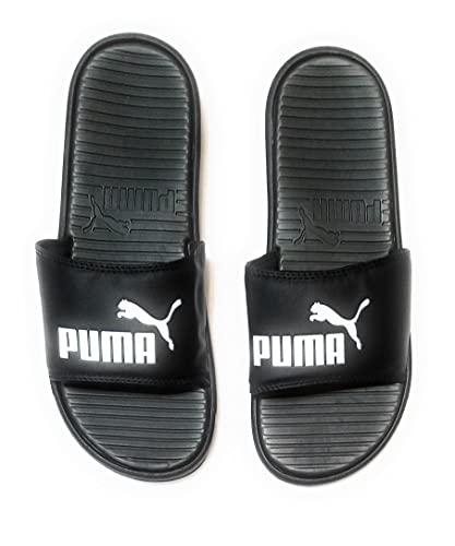 652ead37df8a Image Unavailable. Image not available for. Color  PUMA Men s Pop Cat  Athletic Slide Sandals ...