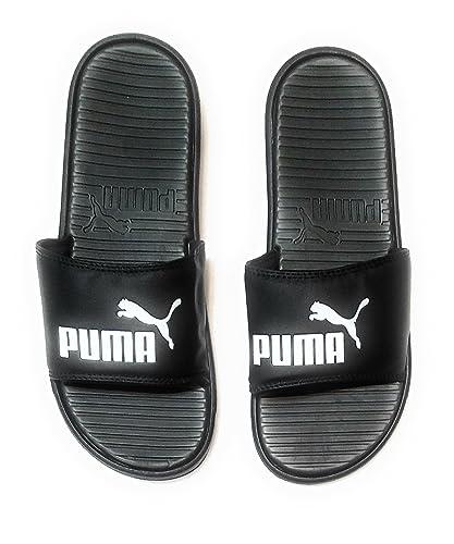 82d16e331 Image Unavailable. Image not available for. Color  PUMA Men s Pop Cat  Athletic Slide Sandals ...