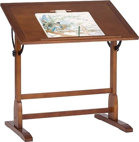 Studio Designs 13304 Vintage Drafting Table Rustic Oak