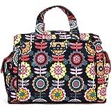 Ju-Ju-Be Classic Collection Be Prepared Diaper Bag, Dancing Dahlias