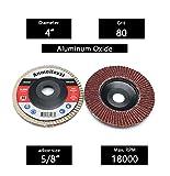 Anmeilexst 12 Packs 80 grit High Density Aluminum