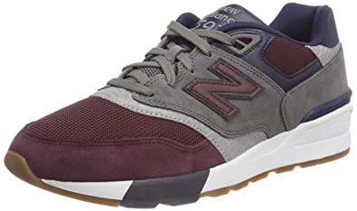 652df36ac33e2 New Balance Men's 597 Running Shoes, Red (Nb Burgundy/Castlerock/Pigment Bgn