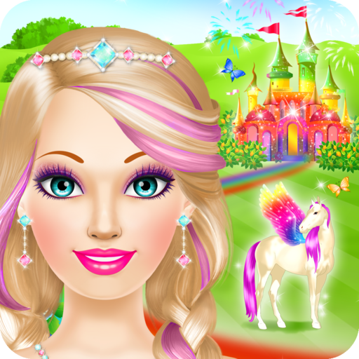 Magic Princess Salon: Spa, Makeup and Dress Up Games for Girls
