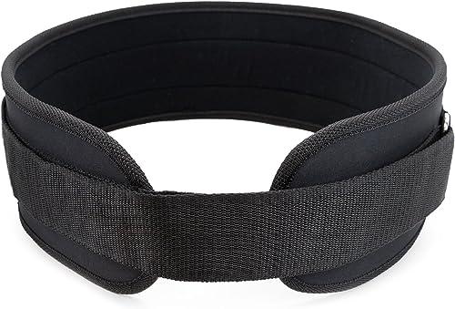 Crown Sporting Goods Neoprene Weight Lifting Belt Strength Training Fitness Equipment