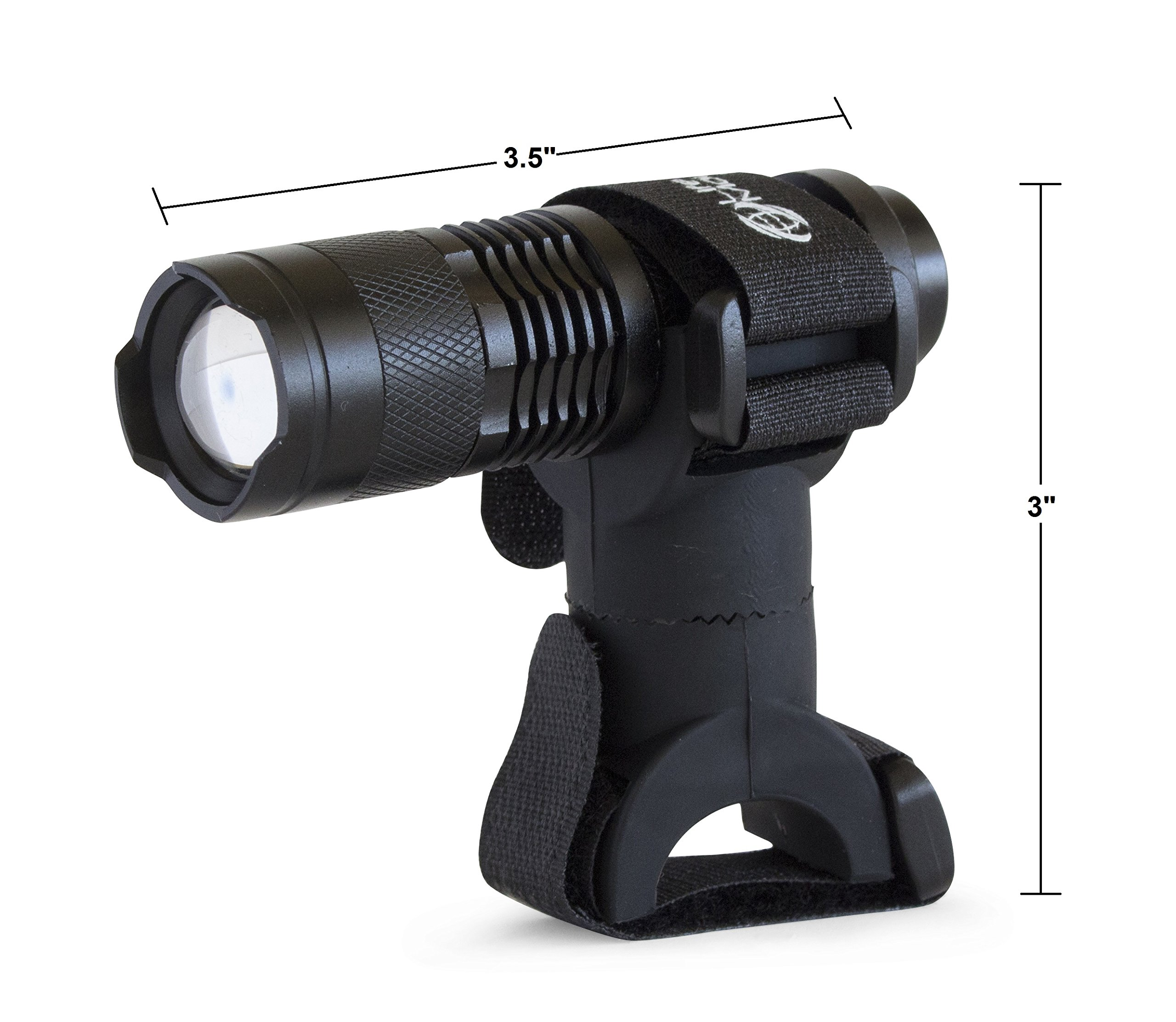 Life Mounts All Weather LED Barbecue Grill Light with Patented Universal Flex Mount (Black) by Life Mounts (Image #5)