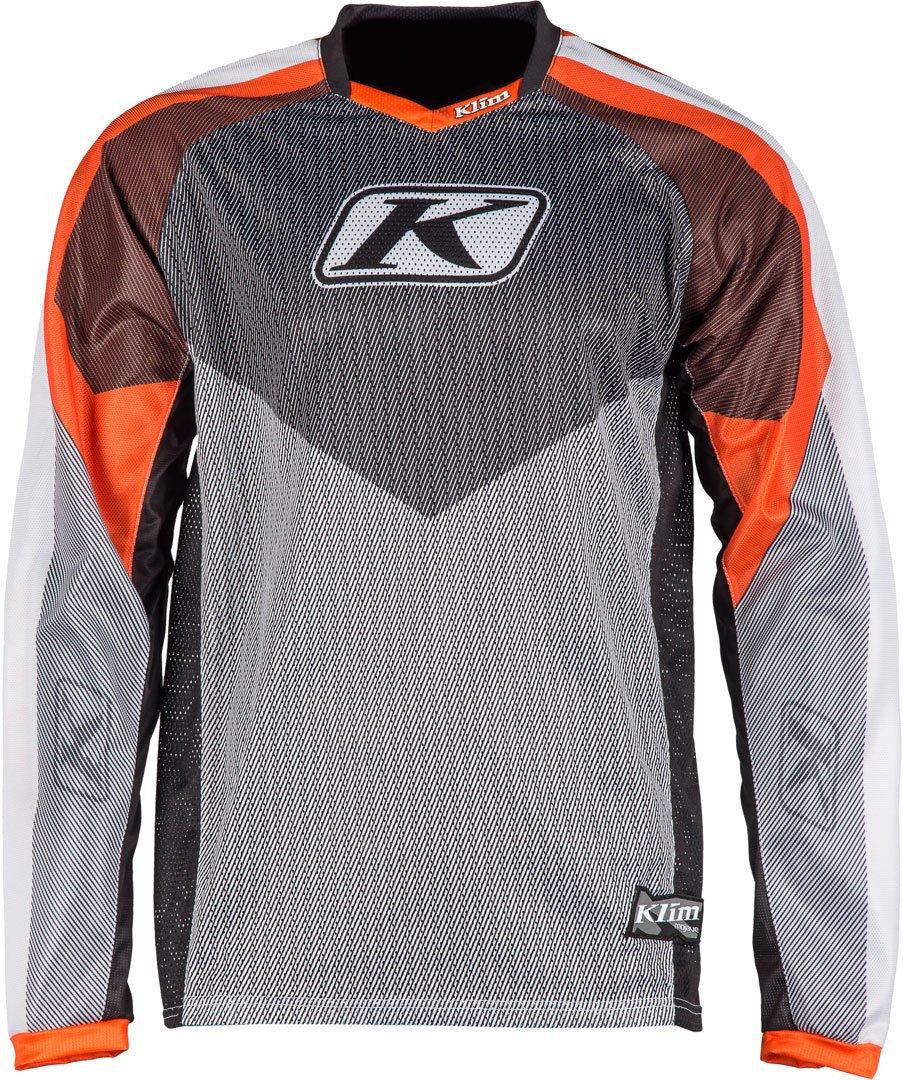 Klim Mojave Mensオフロードバイクジャージー L オレンジ 3109-004-140-400 B075DD4Q3Z オレンジ L