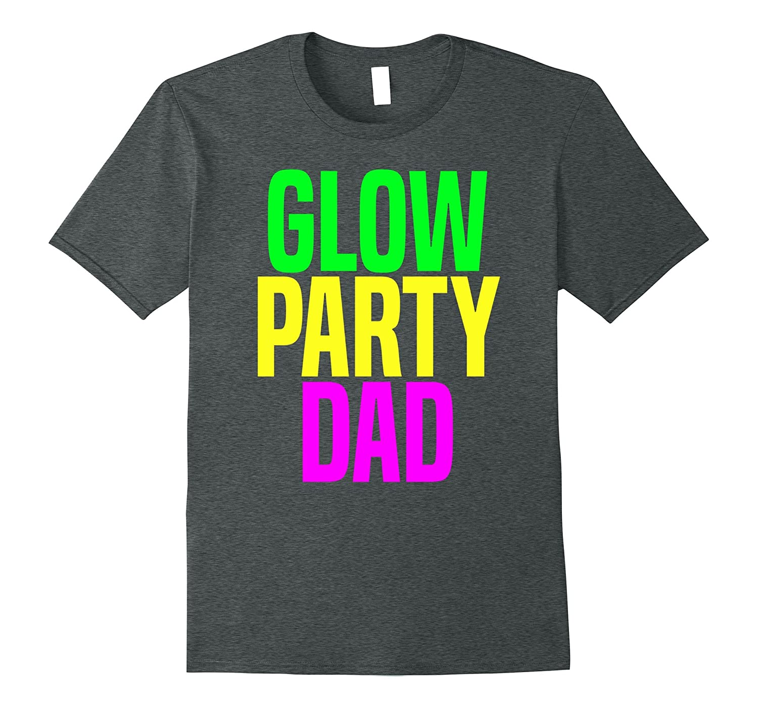 Glow Party Birthday Shirt Black Newstyleth