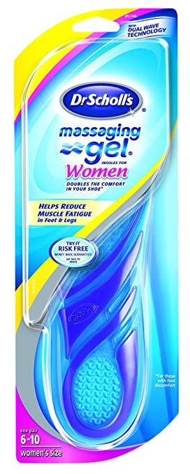 8f2b743d79 Image Unavailable. Image not available for. Color: Dr. Scholl's Massaging  Gel Insoles, Women's ...