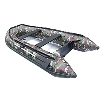 ALEKO hinchable barco de camuflaje 13,8 pies suelo de ...