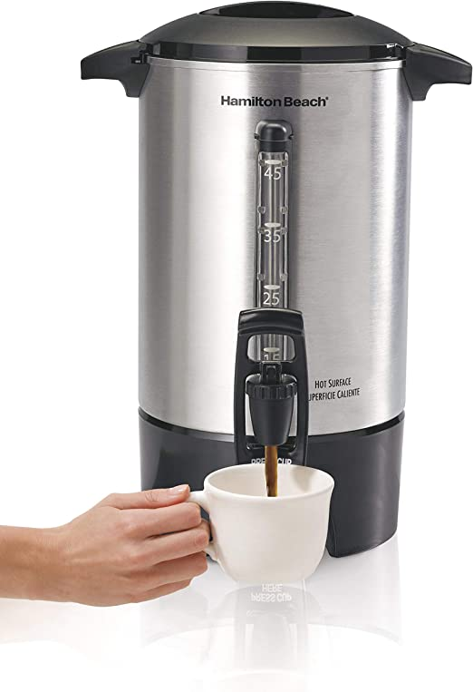Amazon.com: Hamilton Beach 40519 - Urna de café (45 tazas ...