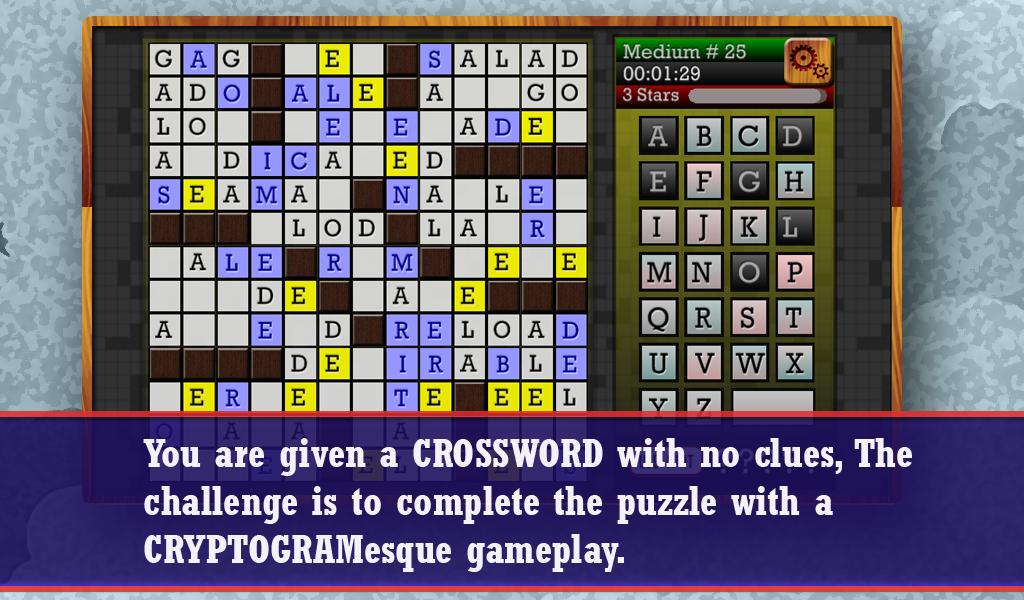 Watch Video  sc 1 st  Amazon.com & Amazon.com: CROSSWORD CRYPTOGRAM - Clueless Crossword Puzzle ... 25forcollege.com