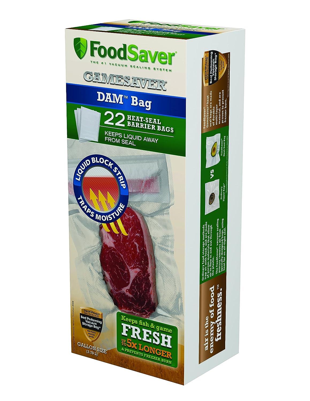 FoodSaver 1-Gallon DAM Bags, 22 Count