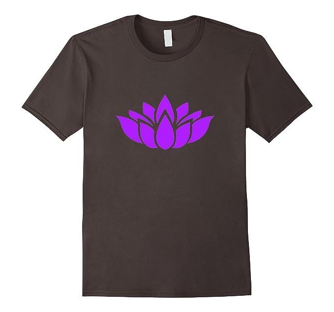 Amazon lotus flower yoga t shirt pretty purple buddhism symbol mens lotus flower yoga t shirt pretty purple buddhism symbol 2xl asphalt mightylinksfo