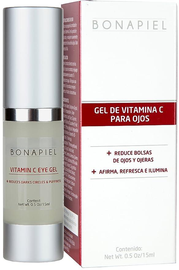Gel Vitamina C Para Ojos - Corrector De Ojeras, Reduce Bolsas De Ojos, Combate Arrugas y Líneas de Expresión: Amazon.es: Belleza