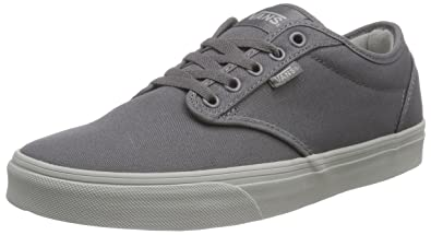 5513304c42 Vans Atwood Men s Shoes (Check Liner) Gray  Light Gray Sneakers ...