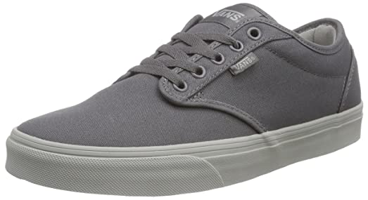 Vans Atwood Men's Shoes (Check Liner) Gray/ Light Gray Sneakers ...