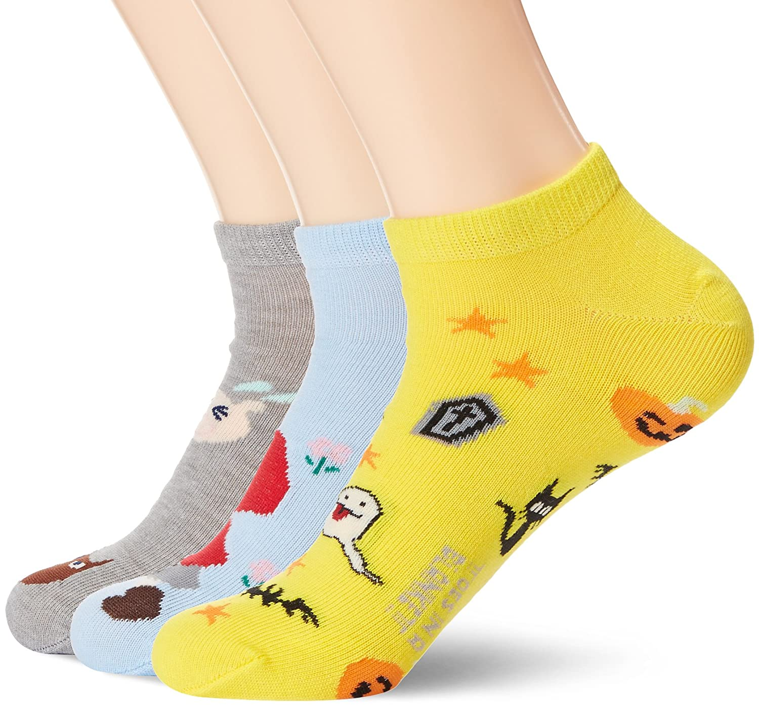 Amazon.com: Toes in A Blanket Womens moisture-free colorful pattened ankle socks with butterfly pattern 3-pair pack: Clothing