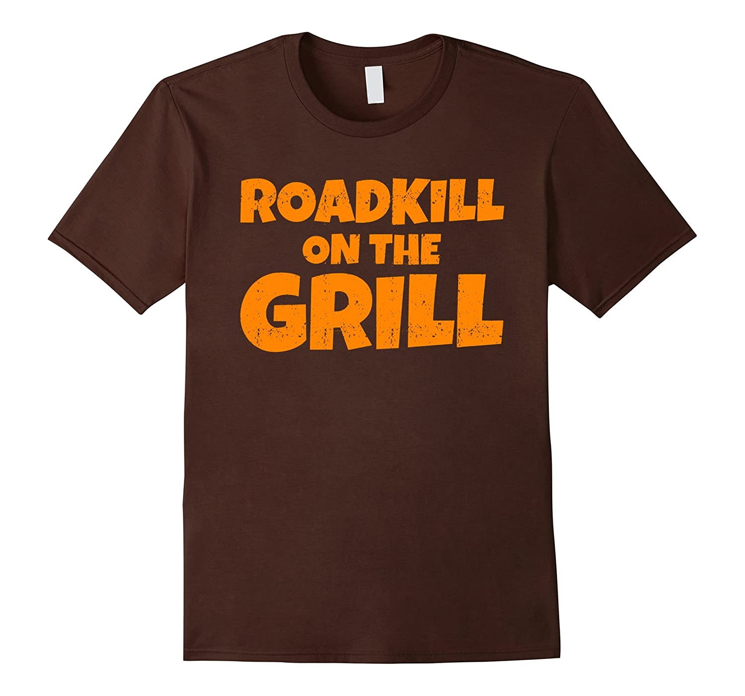 Roadkill on the Grill Funny BBQ Party T-Shirt-CD