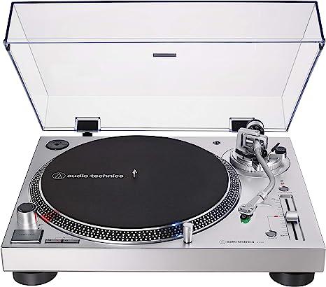 Amazon.com: Audio-Technica AT-LP120XUSB-SV Direct Drive ...