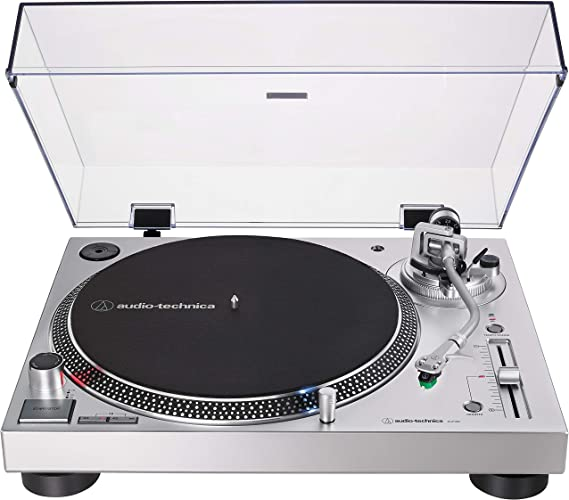 Audio-Technica AT-LP120XUSB-SV Direct-Drive Turntable (Analog & USB)
