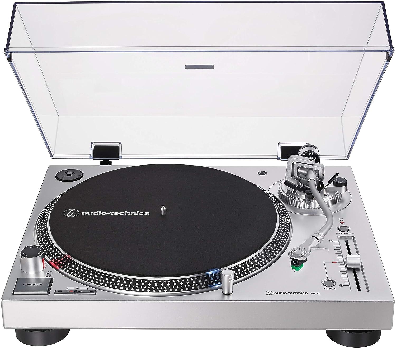 Audio-Technica AT-LP120XUSB-SV Direct Drive USB Turntable ...