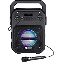 Zoook Rocker Thunder 20 watts Bluetooth Speaker with Karaoke Mic/TF/FM/LED/USB/Party Speaker