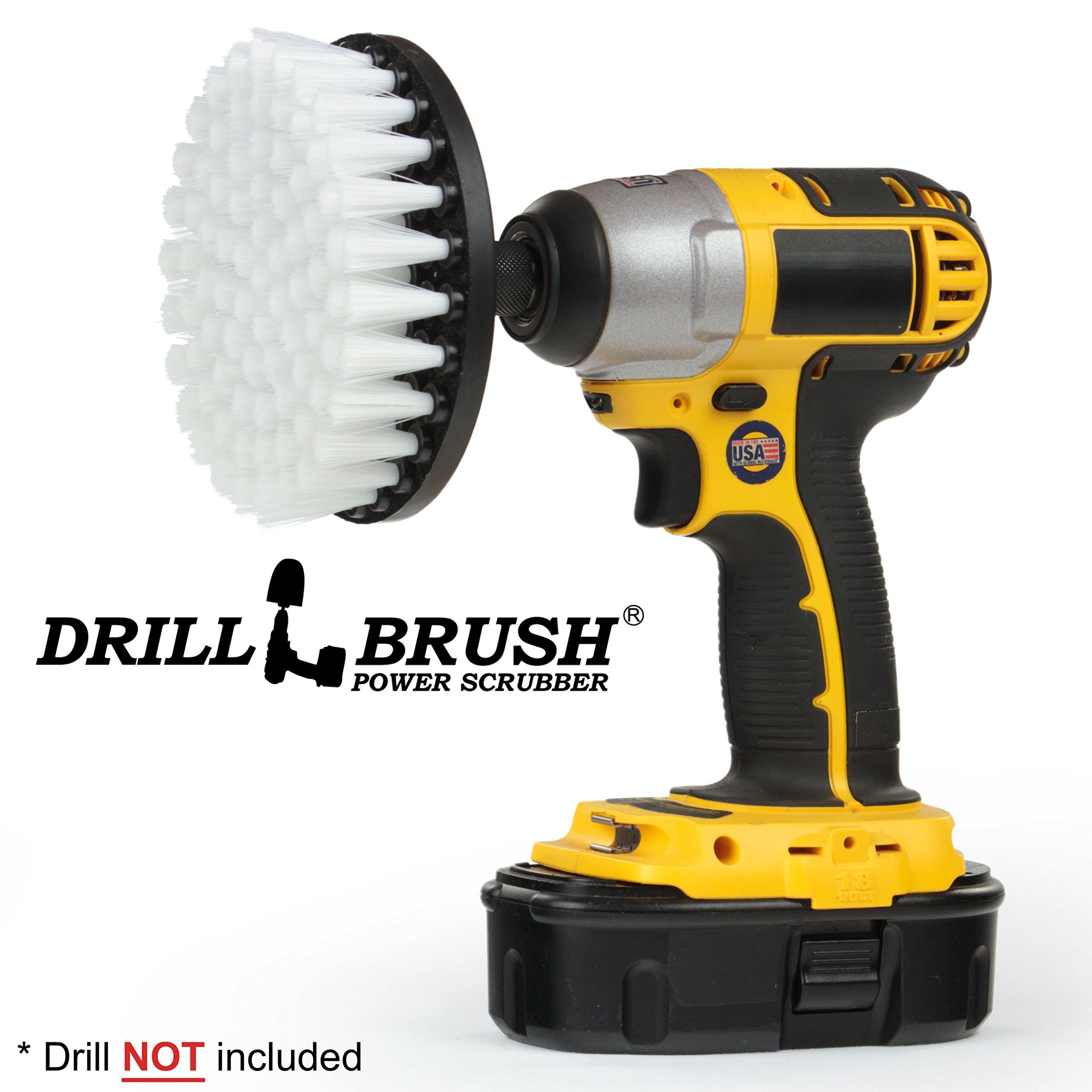 Amazon Com Yellow Drill Brush Carpet Brush With Medium