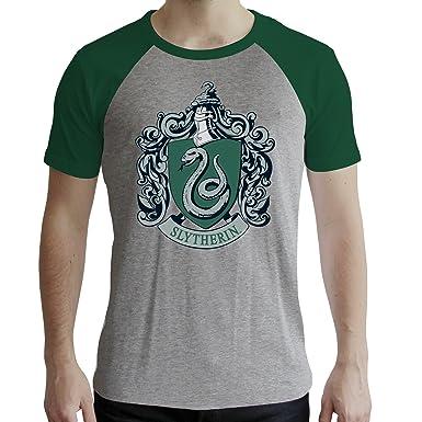 Abystyle Harry Potter Serpentard Homme Tshirt nN0mv8w