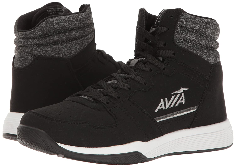 Avia Women's ALC-Diva Cross-Trainer Shoe B01IE87ISG 8 B(M) US|Black/Iron Grey/Nickel Silver