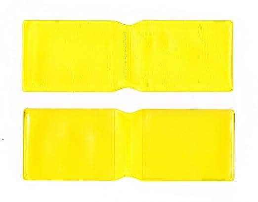 50 x plástico amarillo tarjeta Oyster caseguru/soporte ...